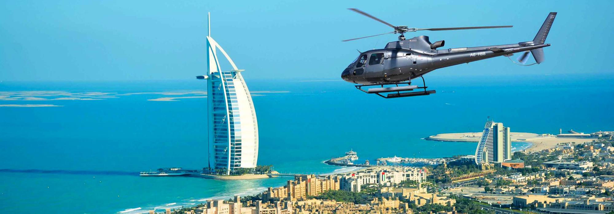 Helikopter Rundflüge über Dubai günstig online buchen